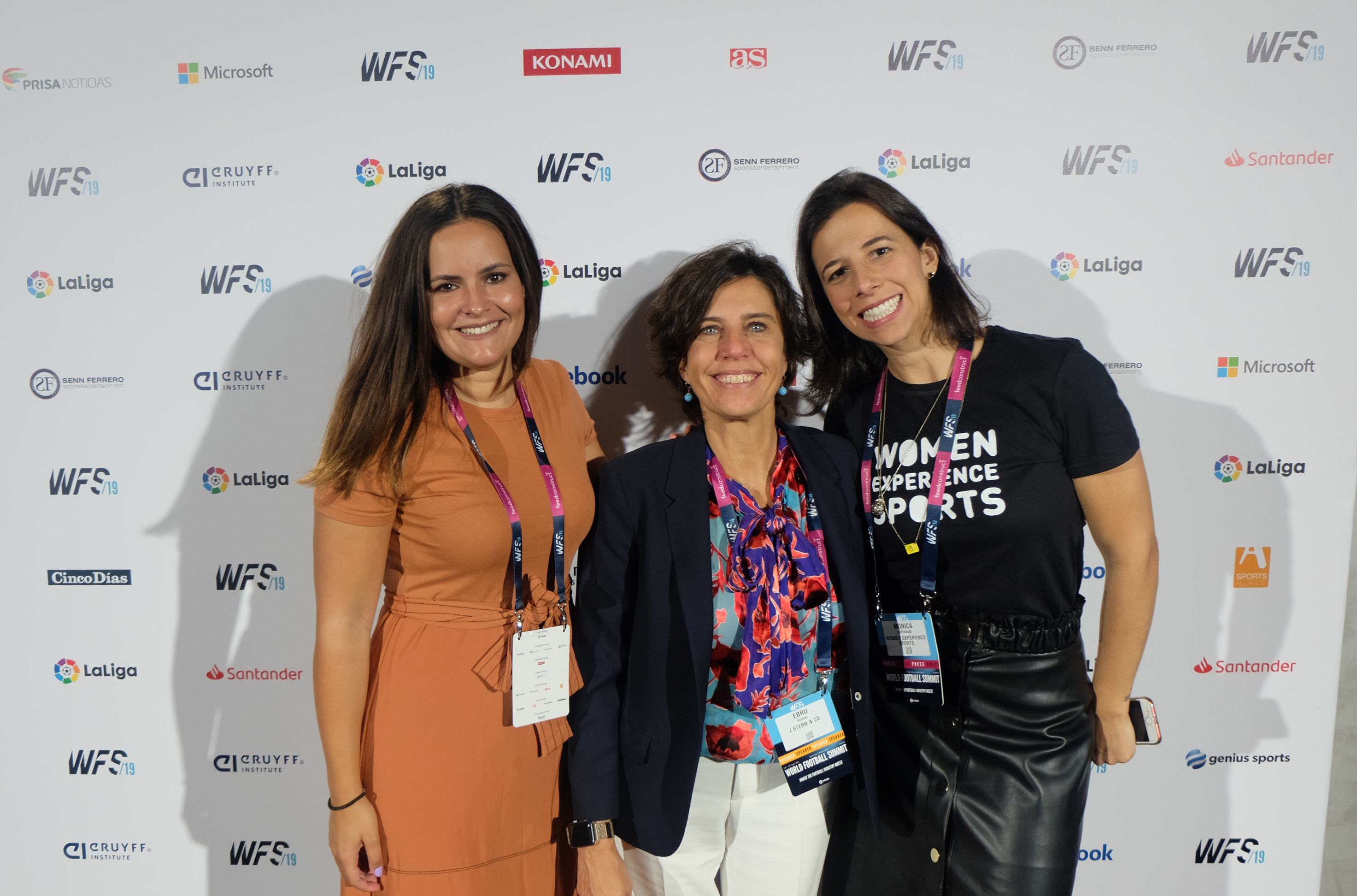 Las mujeres del World Football Summit 2019